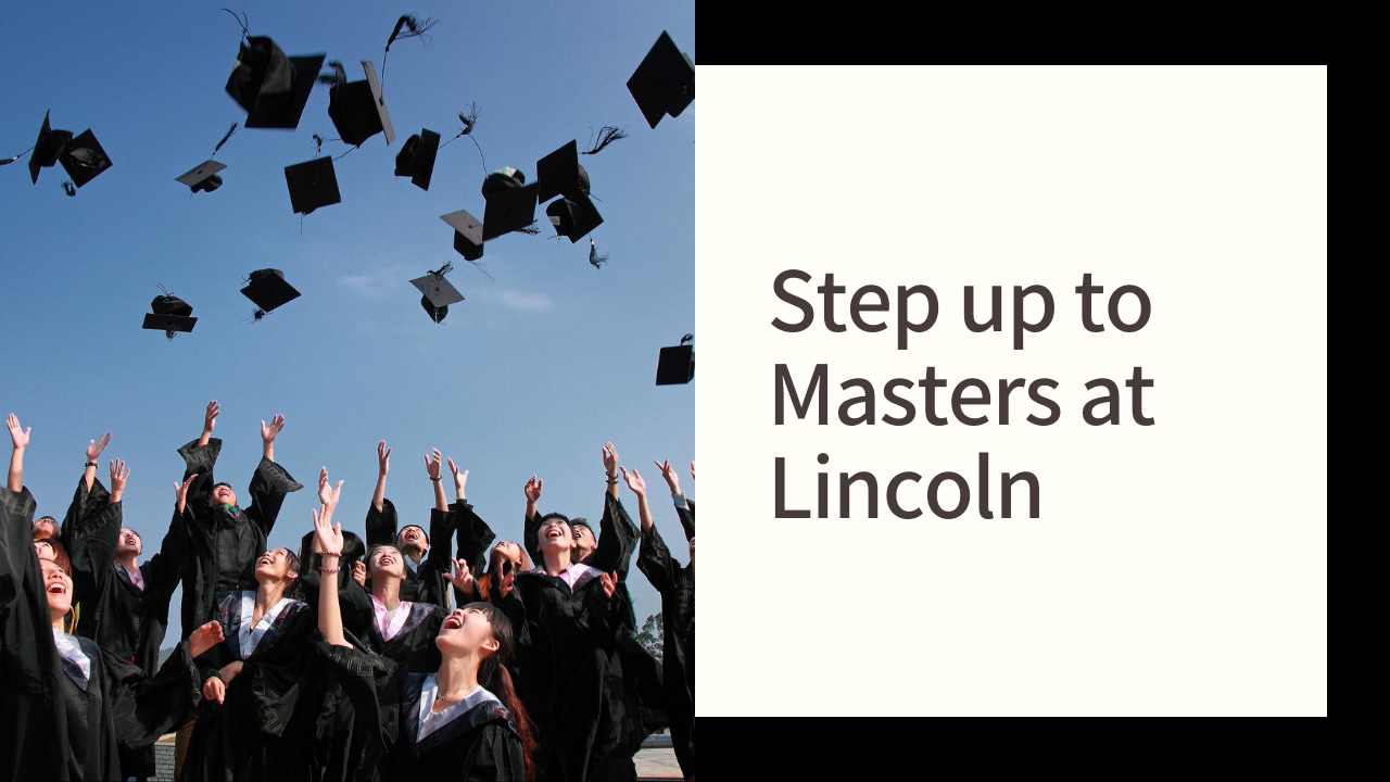 Step up to Masters at Lincoln