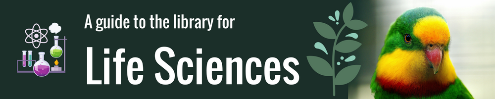 A guide to the library for Life Sciences