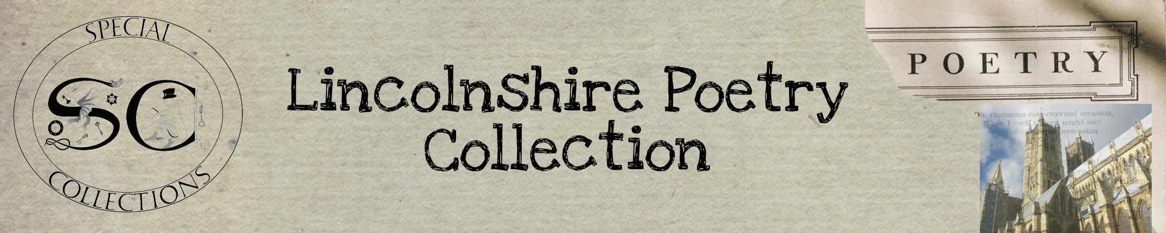 Lincolnshire Poetry Collection Header