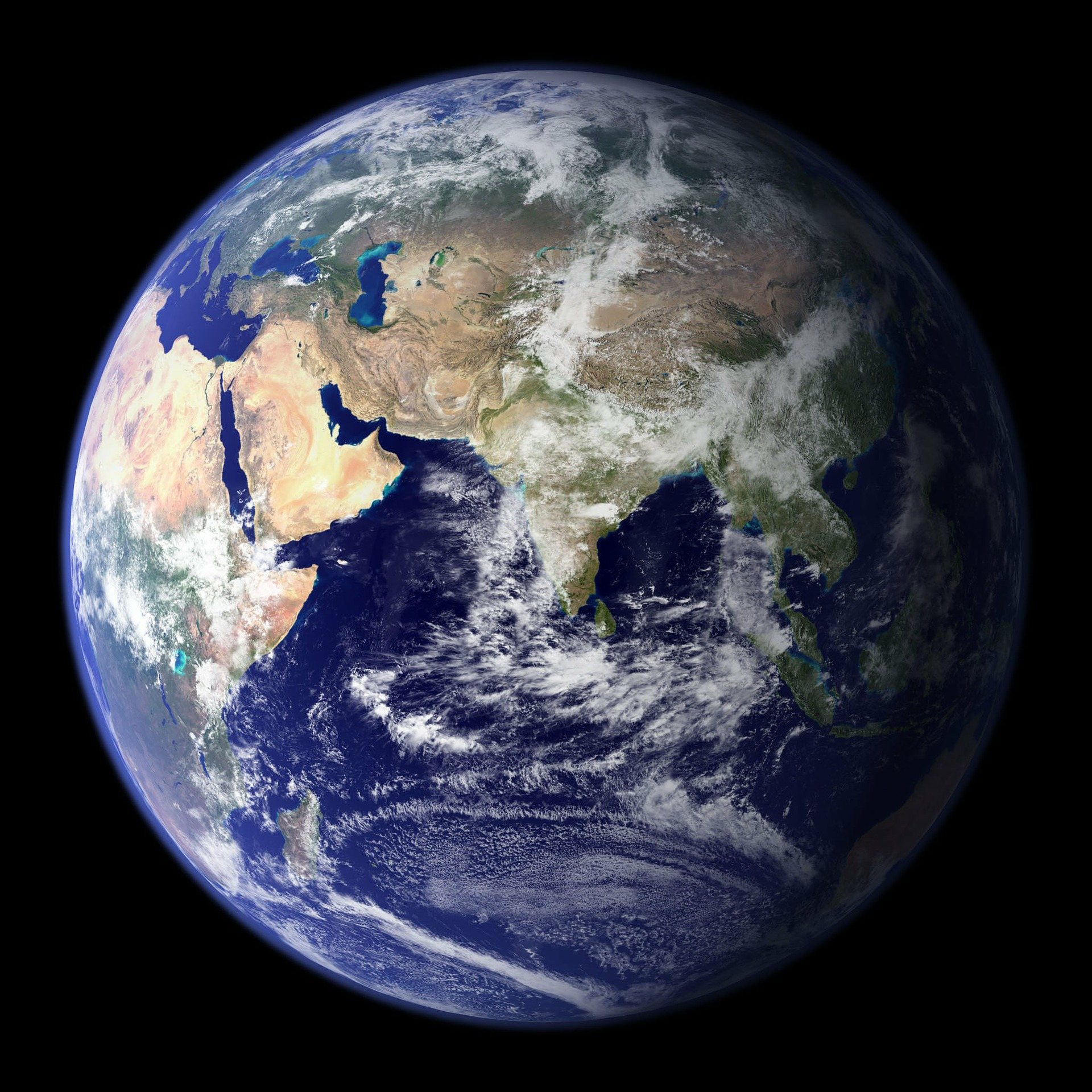 Picture of Earth seen from space