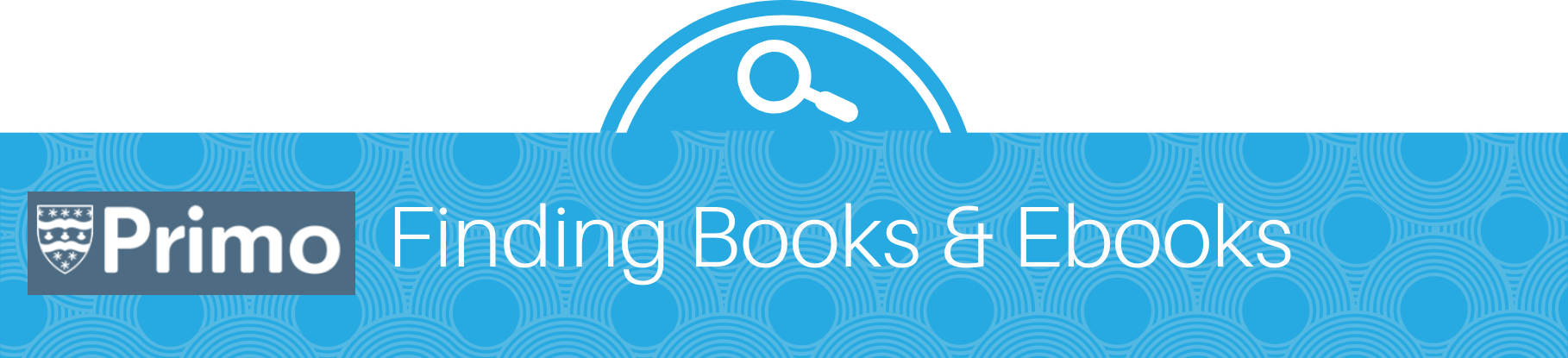 how to find books using Primo