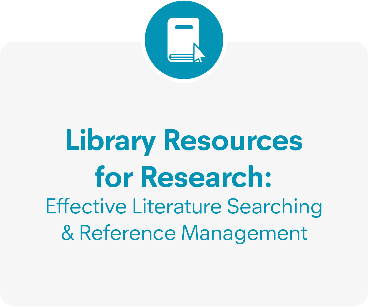 Library Resources guidance