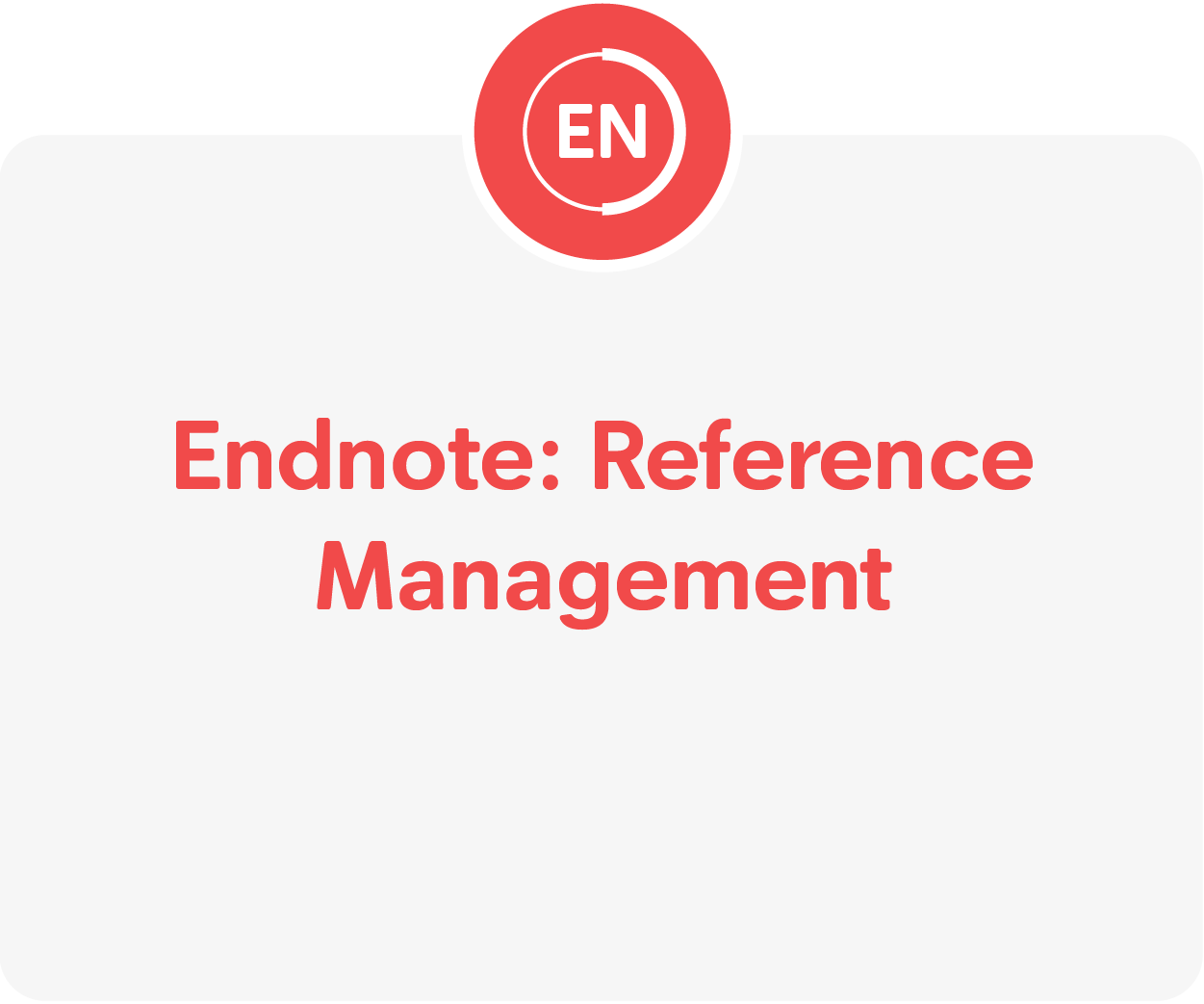 Endnote tutorials.  Opens in new website