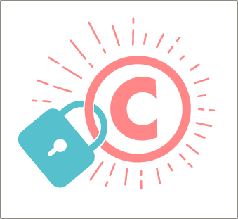illustrattive image of copyright and a lock. Photo: iStock-656591624