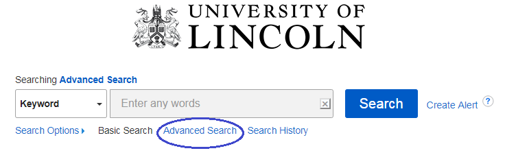 single field advanced search