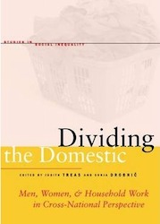 Coberta del llibre: Dividing the domestic: men, women, and household work in cross-national perspective