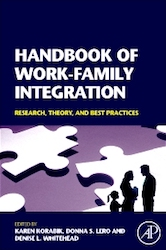 Coberta del llibre: Handbook of work-family integration: research, theory, and best practices