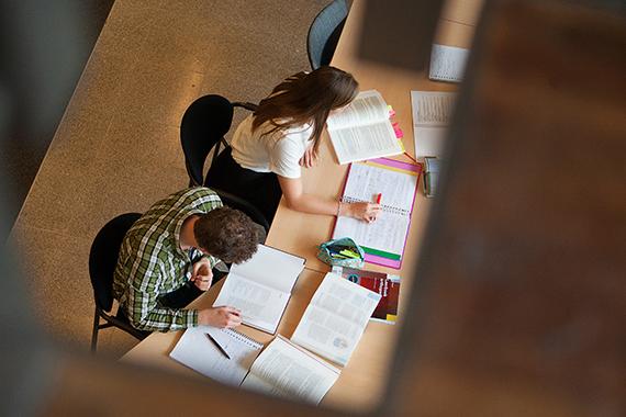 Studenten Medische Bibliotheek