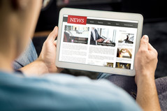 Finding News and Current Awareness for Business Students