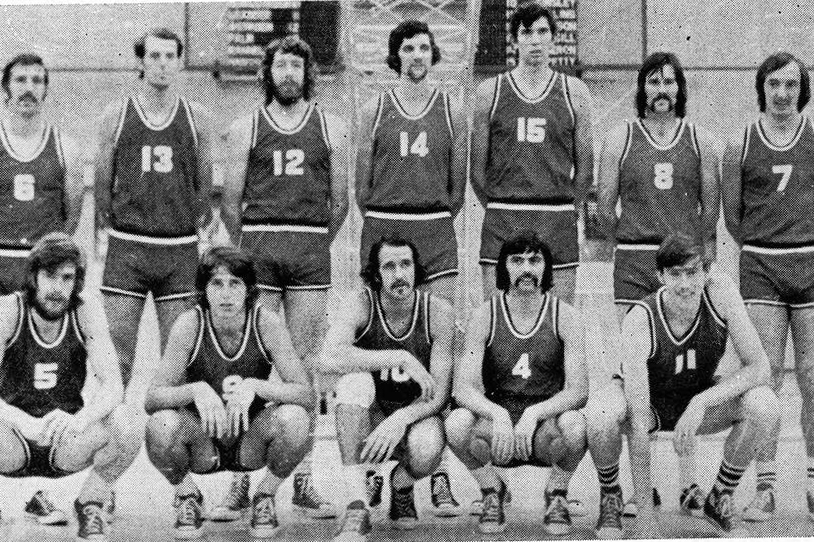 Great Britain Men's National Team 1971 - 1972