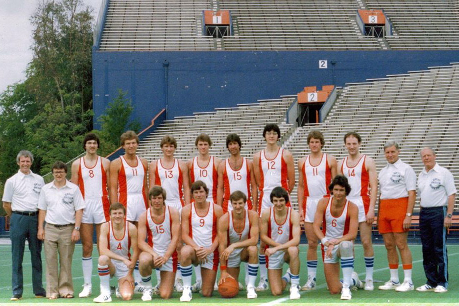 Great britain Men's National Team 1979 - 1980