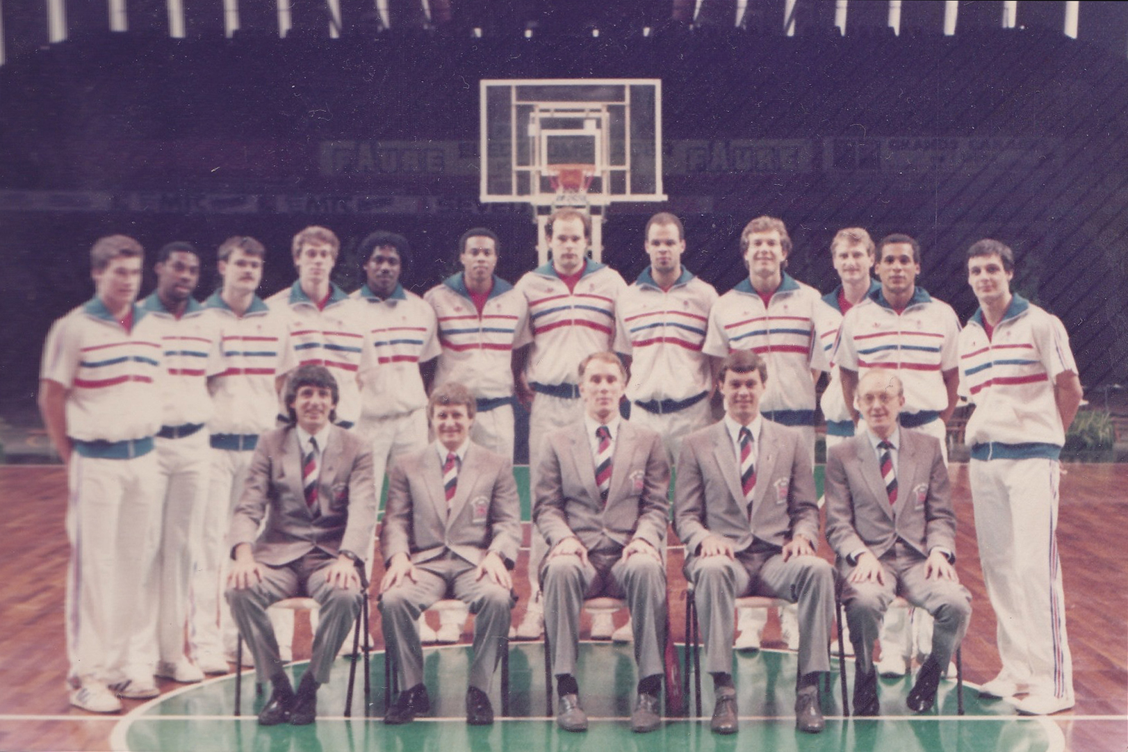 Great Britain Men's National Team 1983 - 1984