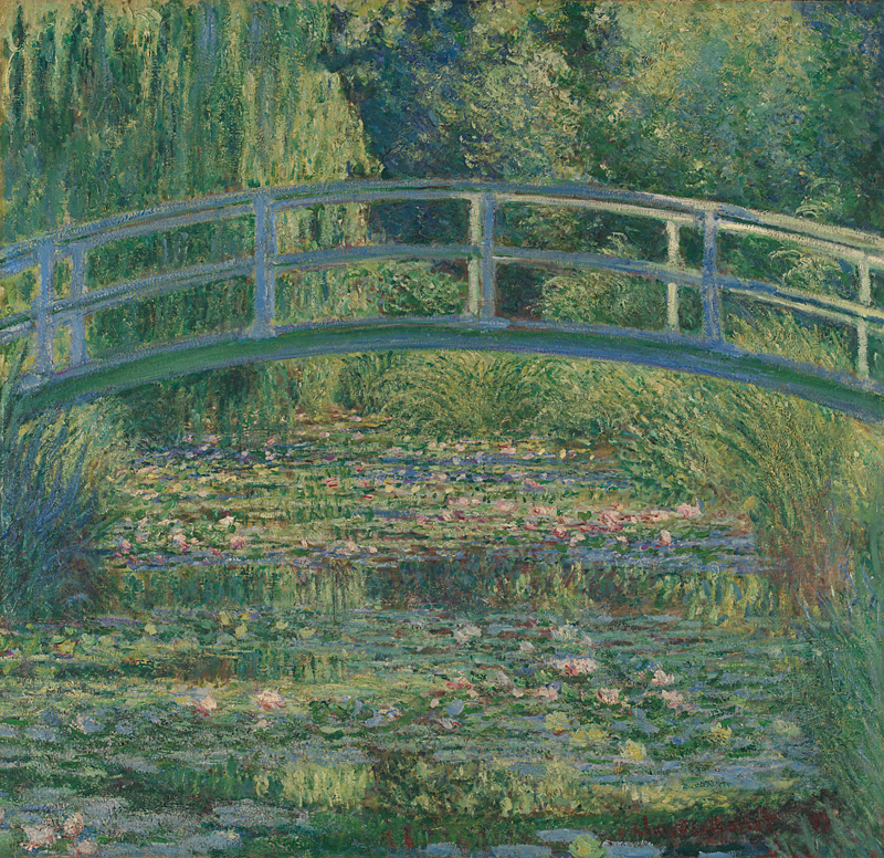 """Claude Monet, """"The Water-Lily Pond"""""""