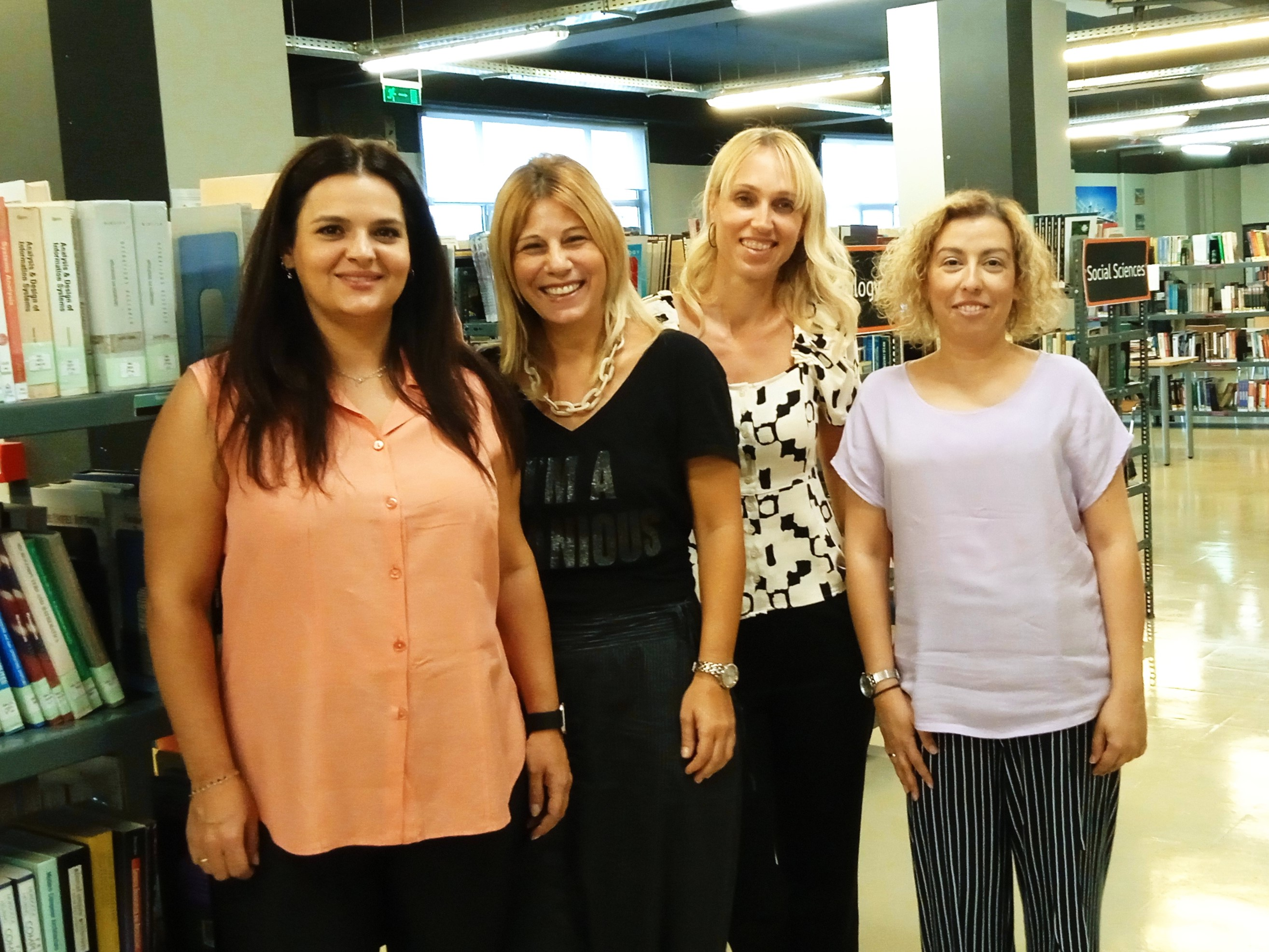 CITY College library staff