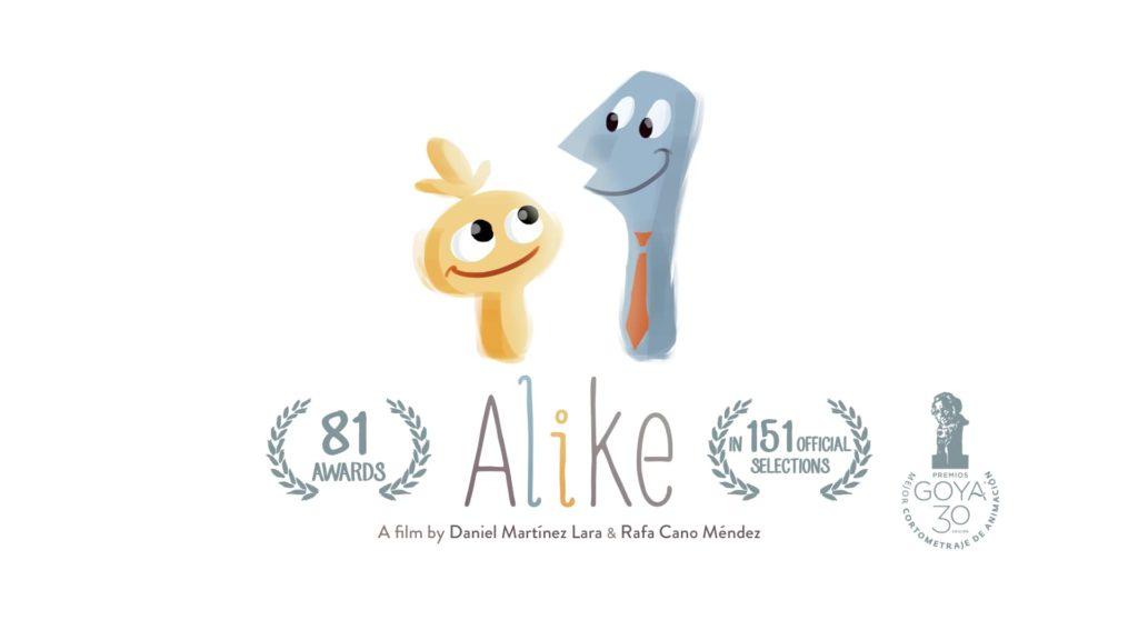 """Cartel de """"Alike"""""""
