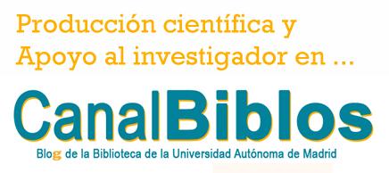 producción científica en CanalBiblos