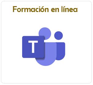 sesiones de formación en línea vía Microsoft Teams
