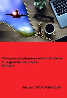 Cubierta del libro Procesos económico-administrativos en Agencias de Viajes