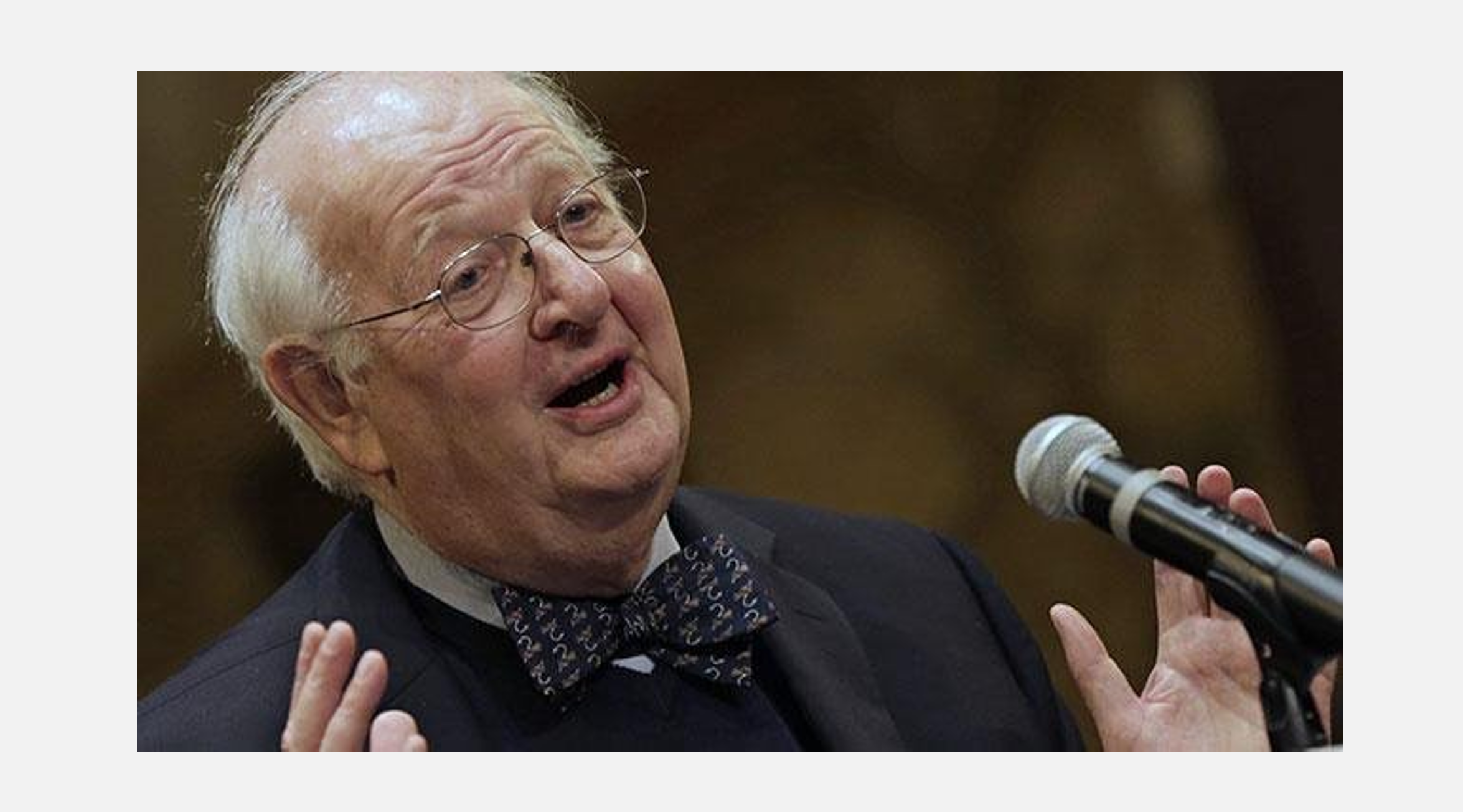 Fotografía del Nobel de Economía 2015 Angus Deaton