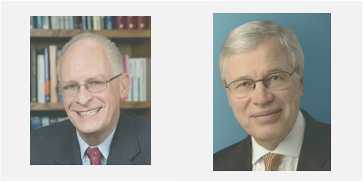 Fotografía de los Nobel de Economía 2016 Oliver Hart y Bengt Holmström