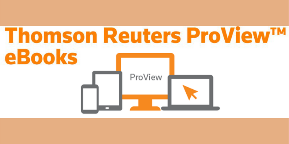 Thompson Reuters Proview
