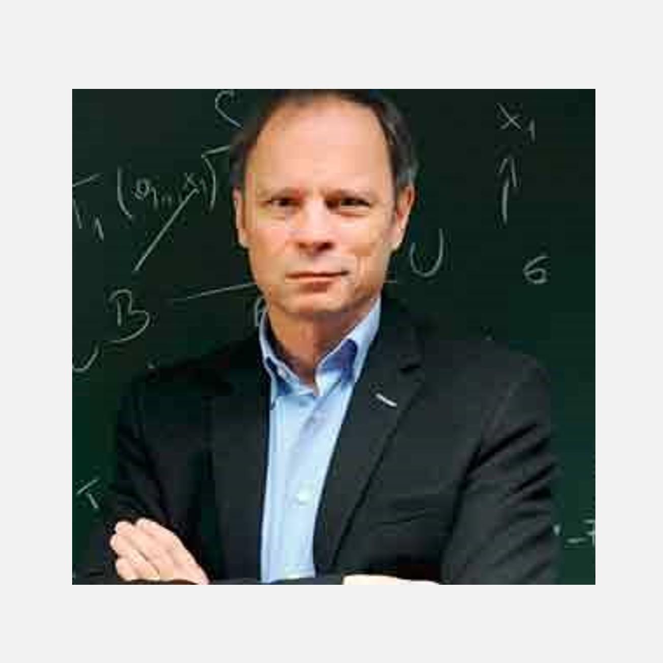 Fotografía del Nobel de Economía 2014 Jean Tirole