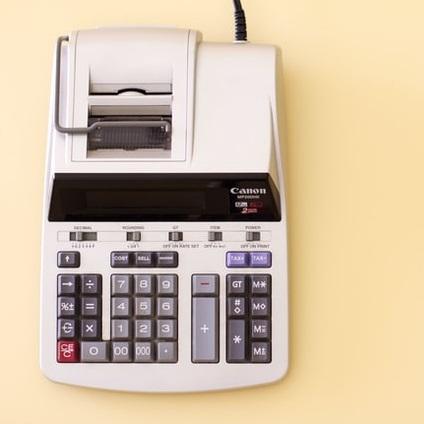 Calculadora de contable vintage