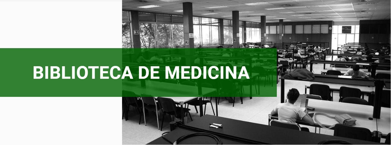 Web de la Biblioteca de Medicina