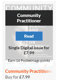 read button screenshot from Community Practitioner website