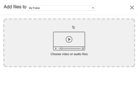 screenshot of the add file screen