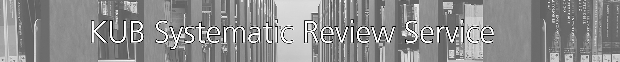Systematic review service