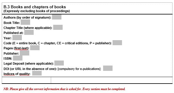 Books and chapters