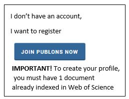 Join Publons now