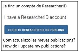 Login to ResearcherID on Publons