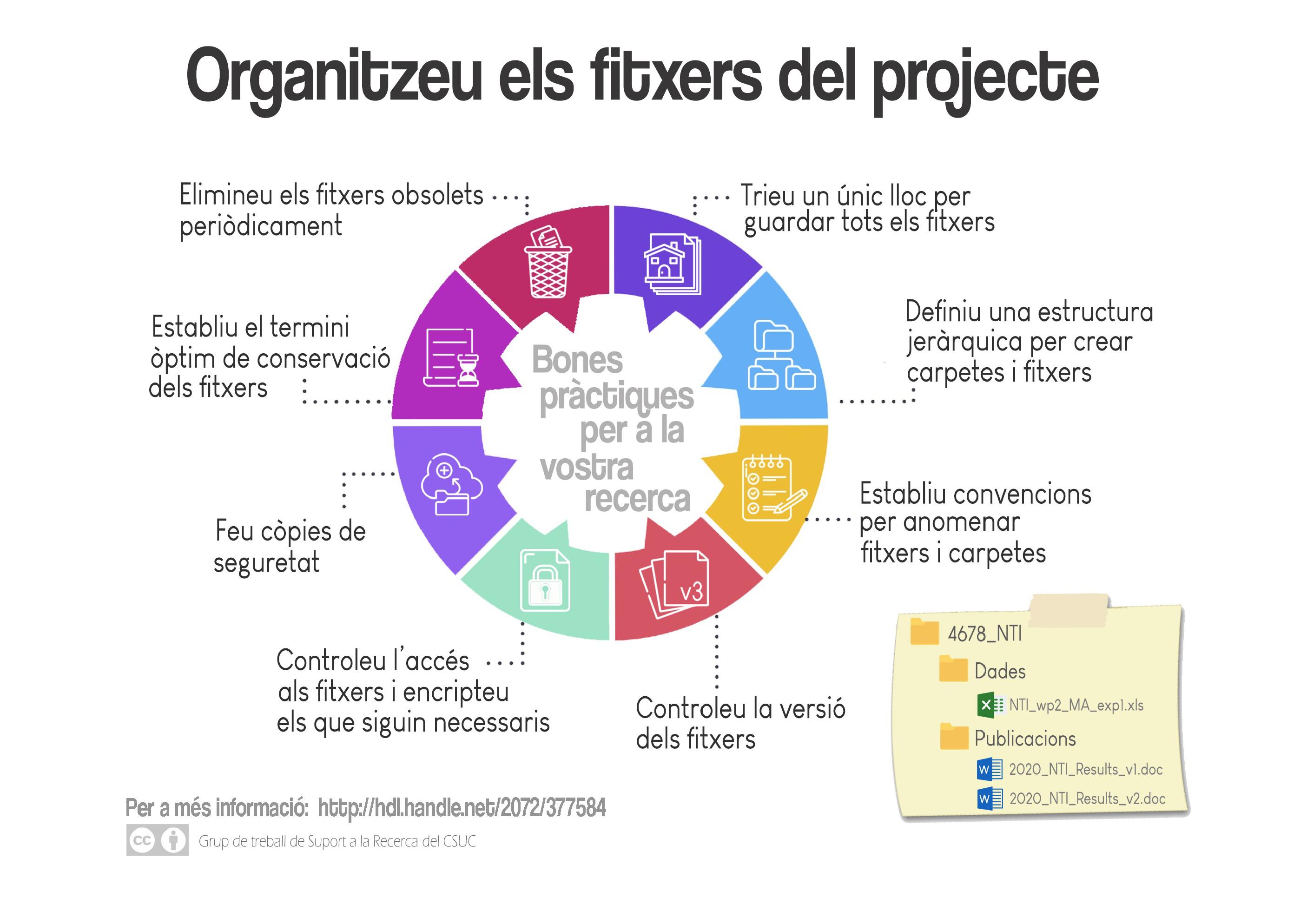 Organitzar els fitxers del projecte
