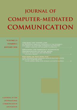 Journal computer mediated