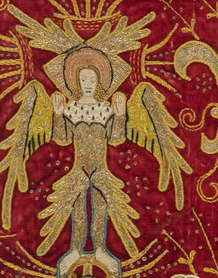 Textile image from The Met