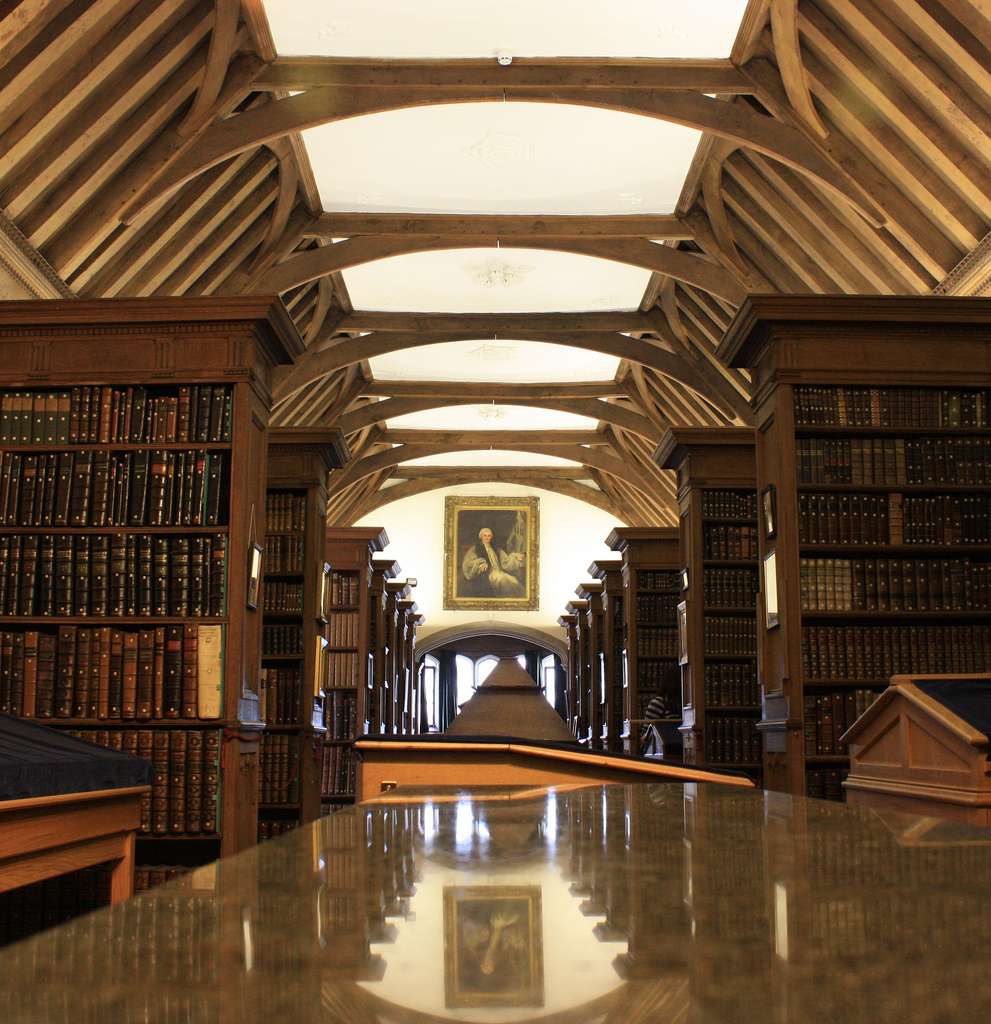 Image of the Old Library, Christ's College