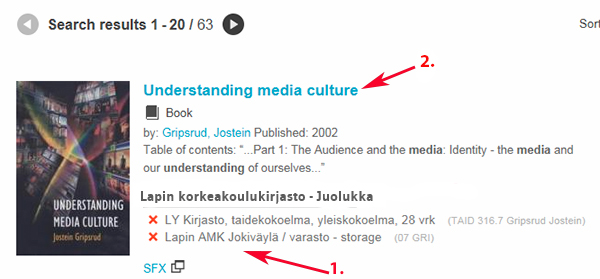 LUC-Finna Search results: Understanding media culture