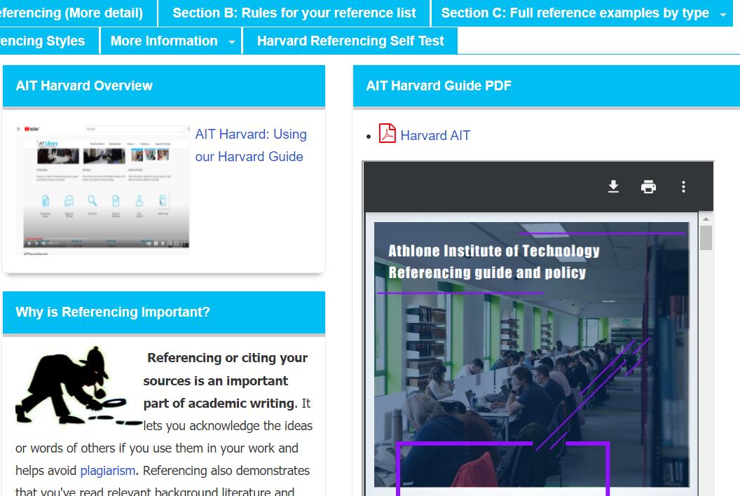 Harvard Guide Image