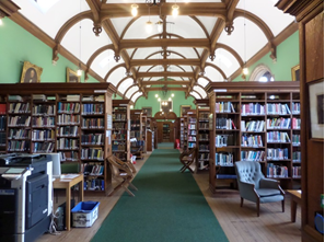 Cambridge Theological Federation, Westminster College Library