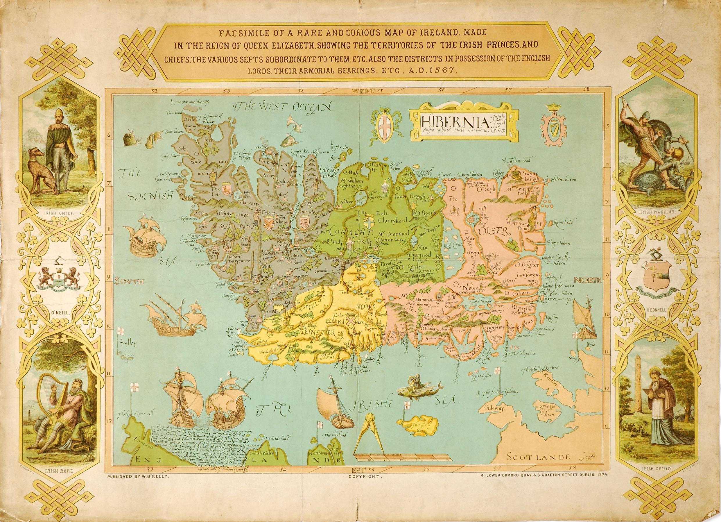 Ewart Map 1567