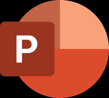 Icona Microsoft PowerPoint 2019
