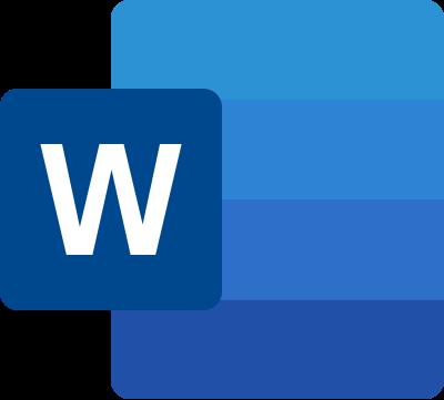 Icona Microsoft Word 2019