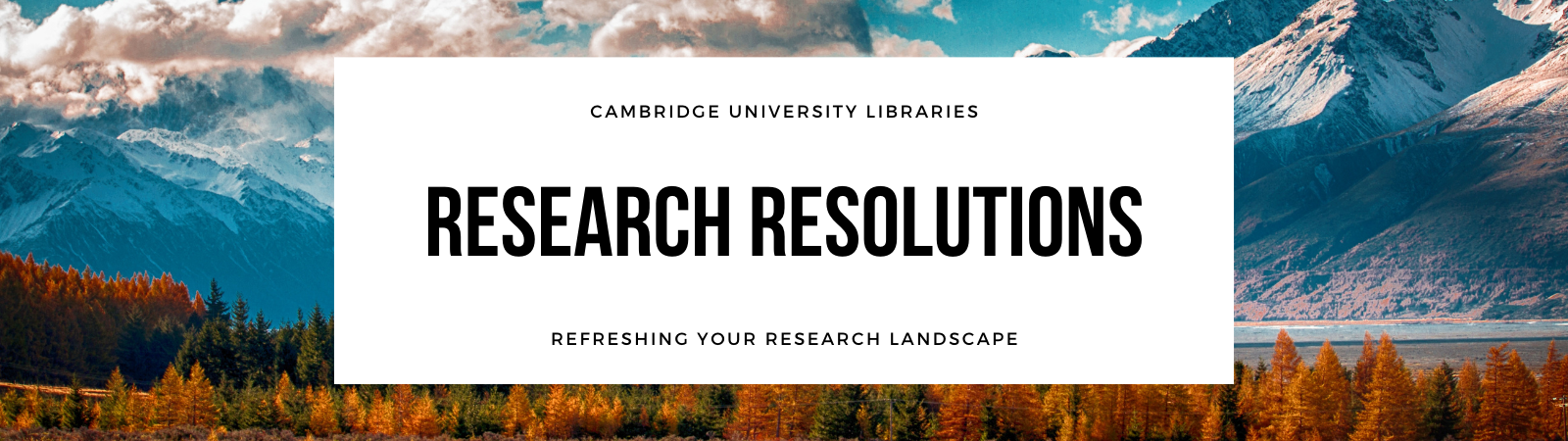 Research Resolutions banner
