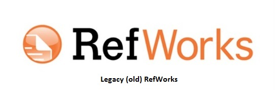 Legacy RefWorks logo - click here to access the Legacy RefWorks guide
