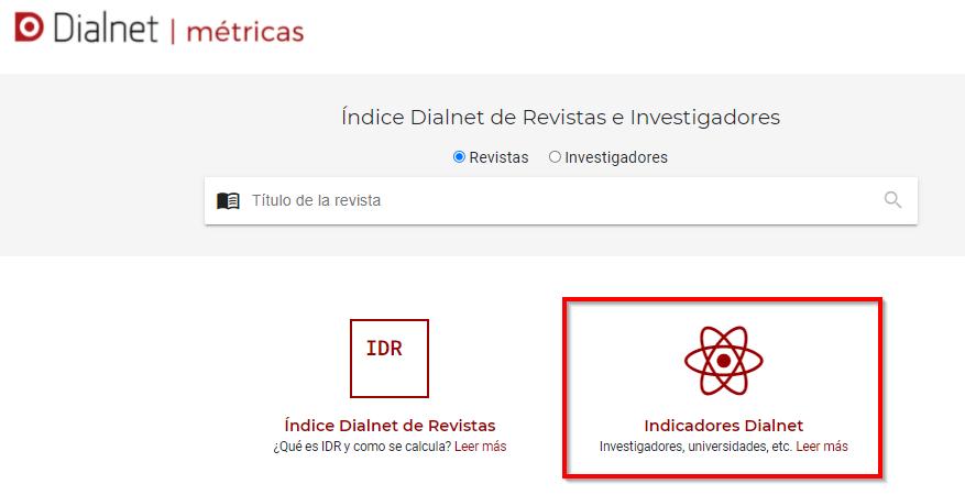Dialnet métricas _ indicadores Dialnet