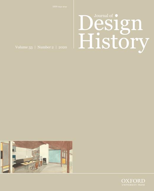 Image of Journal of design history (Online)
