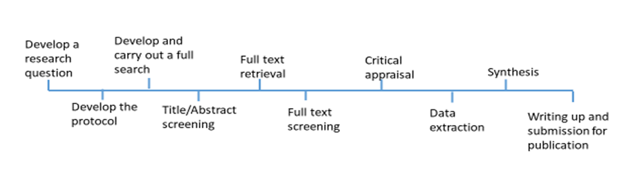 Systematic review timeline