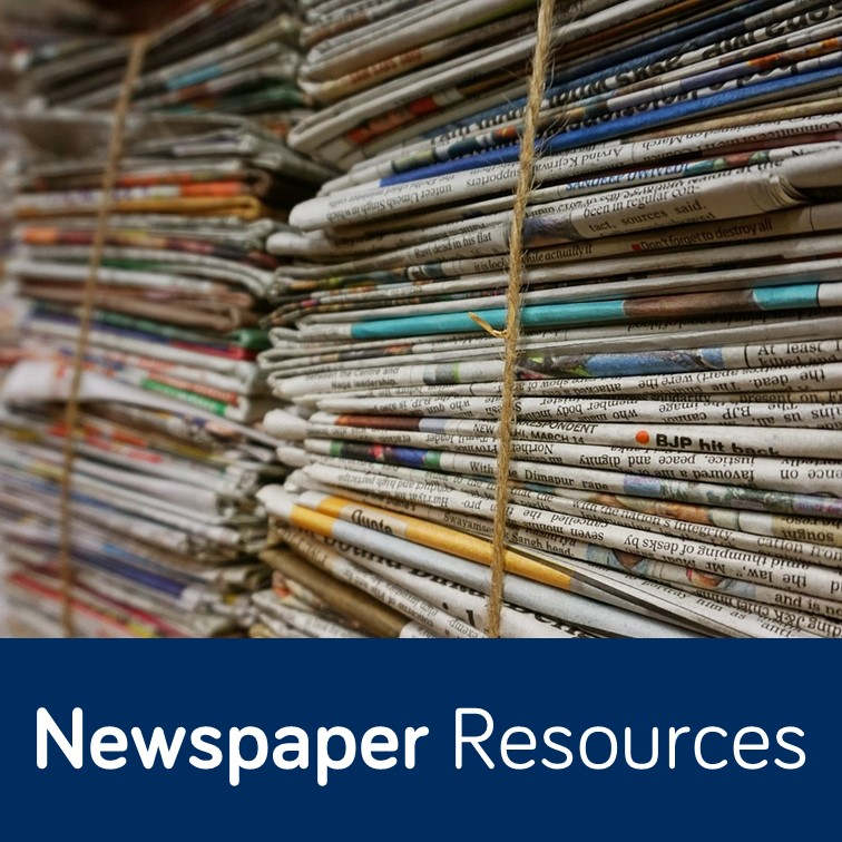 Newspapers Resources topic guide